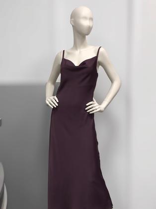 Платье комбинация сиреневое 263339