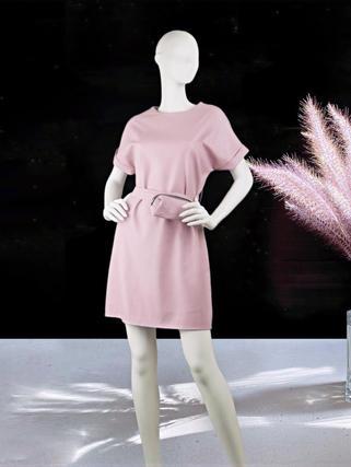 Платья розовые
