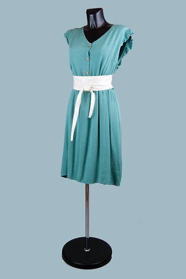 Летнее платье мятное. Размер: 44-46. Италия. Вискоза