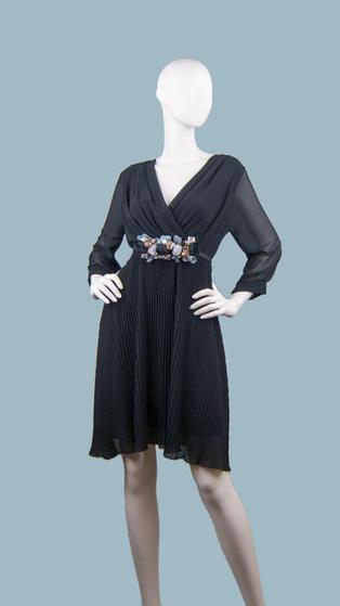 Платье нарядное черное 25390210