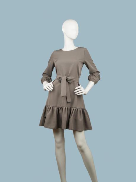 Платье капучино 257204