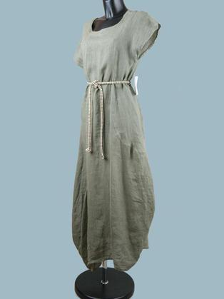Платье льняное бохо 1934