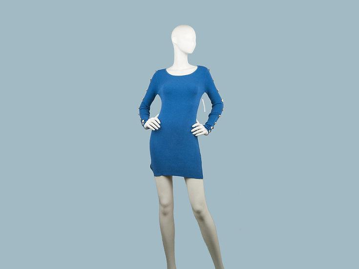 Платье синее 241805