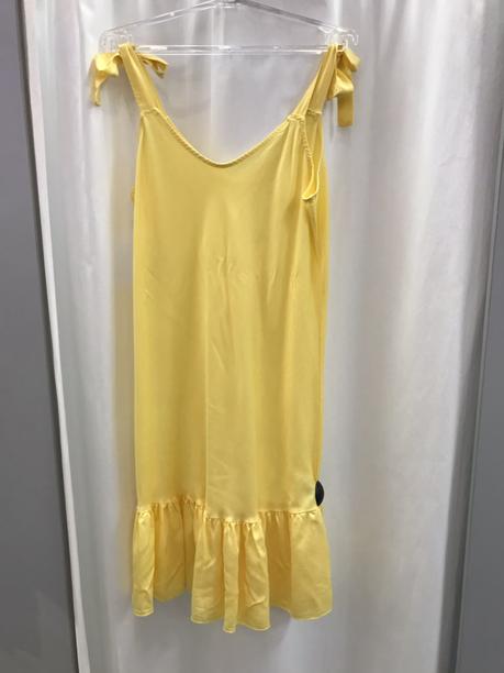 Сарафан жёлтый короткий 22280810