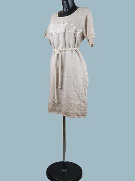 Платье  льняное 1554