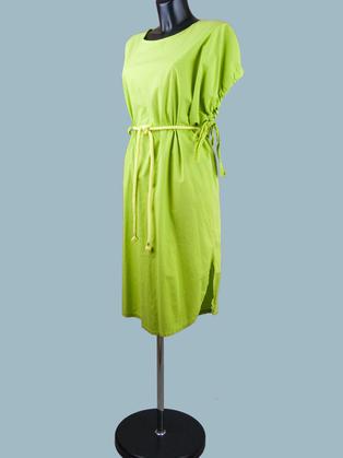 Платье летнее салатовое 2016