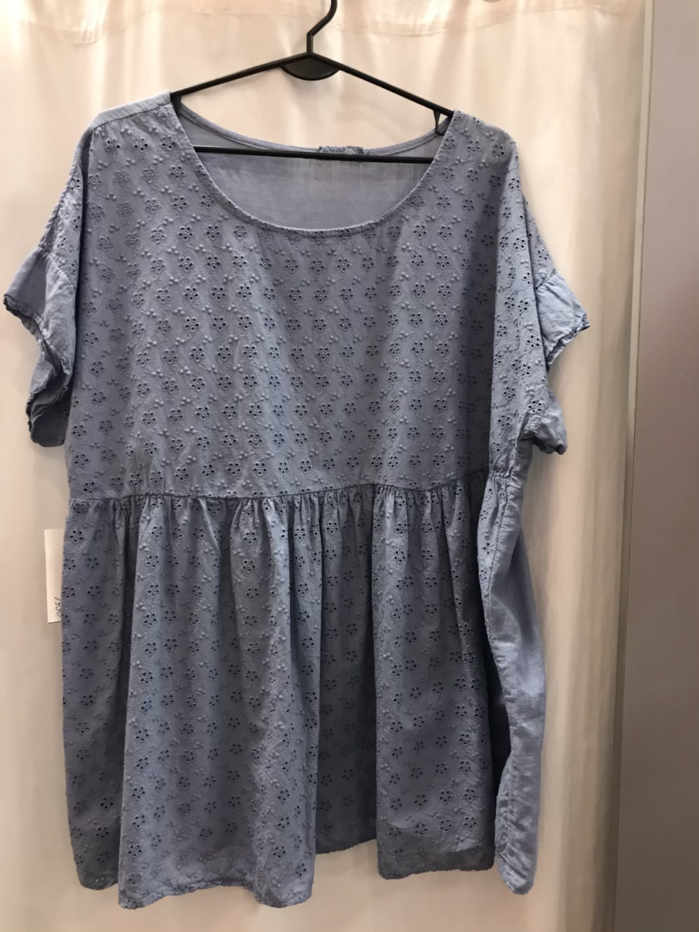 Блузка голубая 20253010