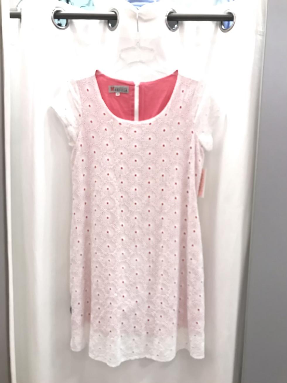 Платье белое из шитья