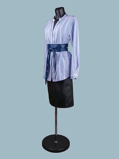 Хлопковая блузка в полоску