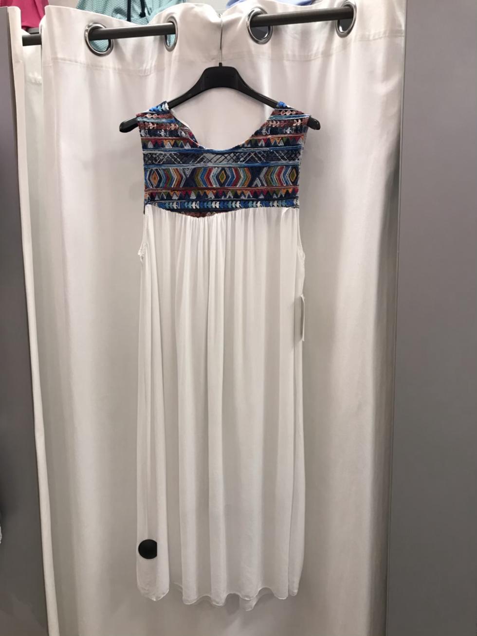Платье мили белое  19120110
