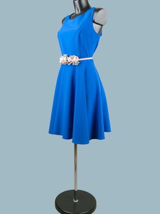 Ярко синее платье 968244