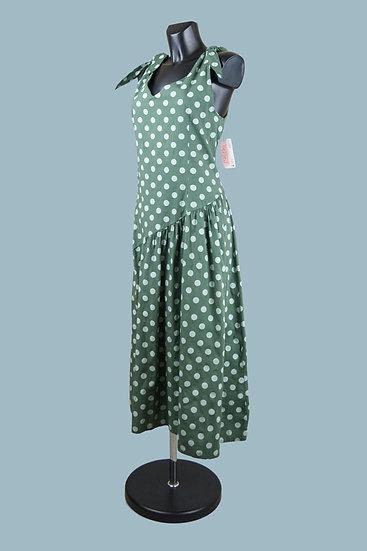 Летнее платье- сарафан. Италия. Размер:48-54. Хлопок