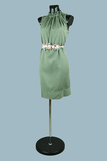 Платье миди  хаки 1885