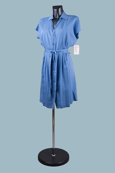 Летнее платье джинсовое. Италия. Лиоцелл. Размер: 42-46
