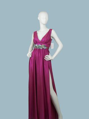 Вечернее платье в пол сиреневое 1773