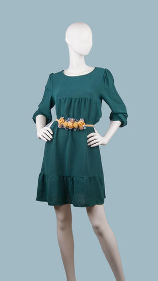 Платье зеленое 25851510