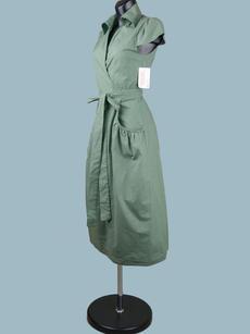 Платье c запахом  хаки 1928