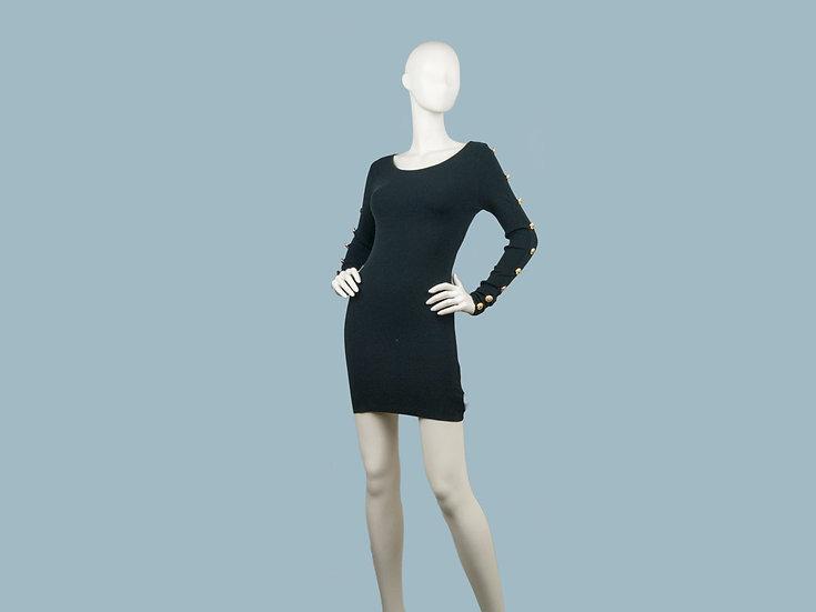 Платье черное 24180203