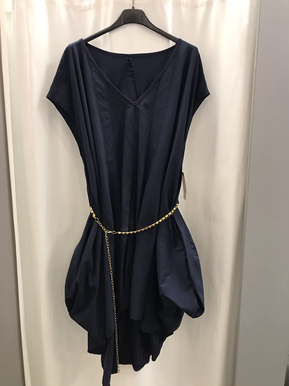 Платье - туника туника синее 19401510