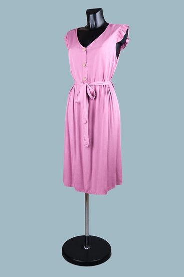 Летнее платье малиновое. Размер: 44-46. Италия. Вискоза