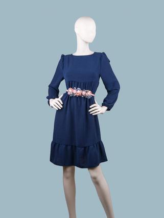 Платье синее  25851510