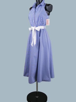 Платье  в полоску 1938
