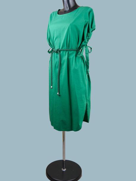 Платье летнее  зеленое 2016