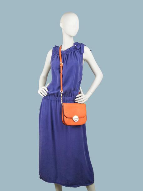 Платье летнее длинное фиолетовое