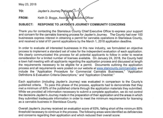 Jayden's Journey Fails Stanislaus County Permit Process