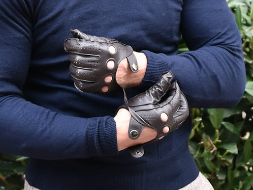 Brown Leather RONA Gloves