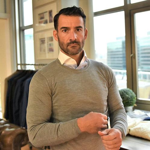Crew Sweater: Superfine Merino Wool