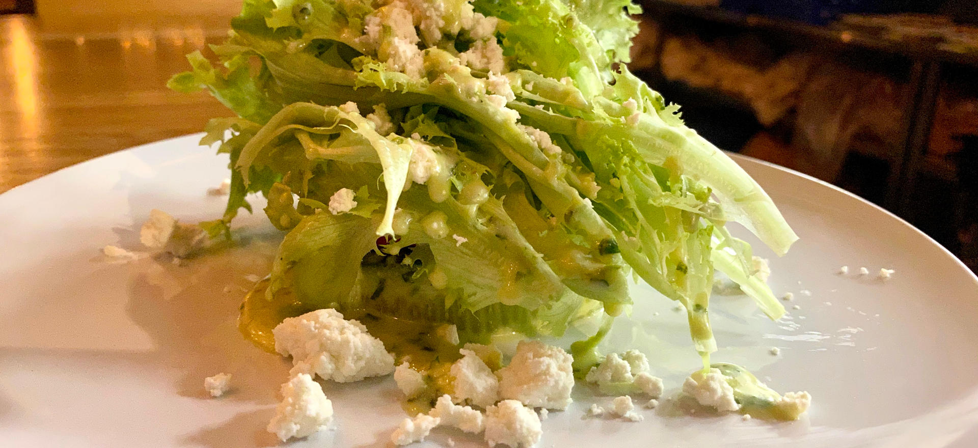 Winter Butter Lettuce Salad with Roasted Squash, Cucumbers, Radish and Goat Cheese