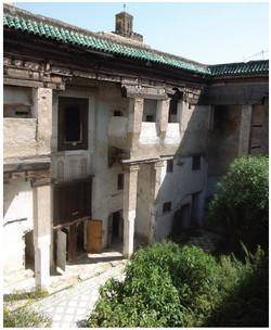 morocco coutyard
