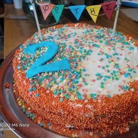 παιδική τούρτα 2 ετων