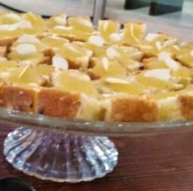 κέικ βουτύρου με μαρμελάδα λεμόνι