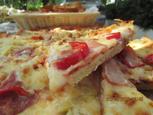pizza με αφράτη ζύμη (30 τεμάχια)