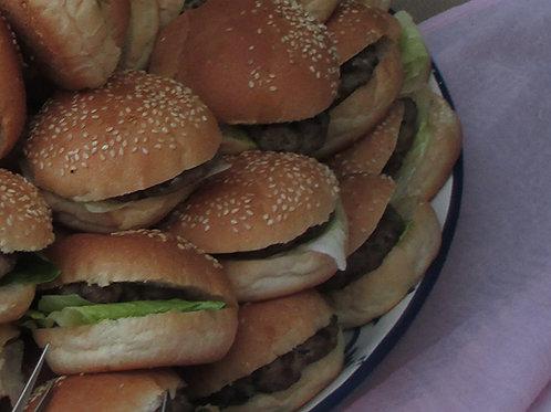 burgeraki με χειροποίητο μοσχαρίσιο μπιφτέκι