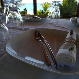 το σερβίτσιο μας με πιάτο πορσελάνης