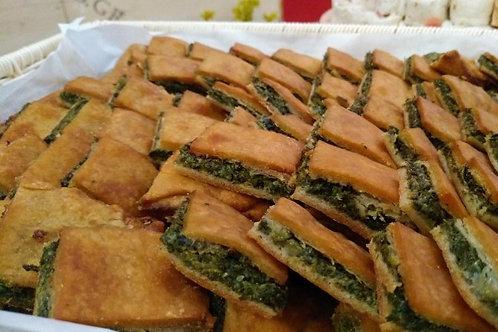 πίτες με χειροποίητο χωριάτικο φύλλο (36 τεμάχια)