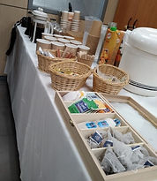 bar με γαλλικό καφέ, ροφήματα και χυμούς
