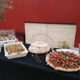 welcome buffet σε εταιρική εκδήλωση