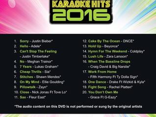 De grootste hits van 2016 Nieuwe songs in de december release......