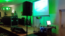 Karaoke on duty