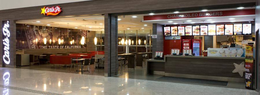 Carl's Jr - Aeroporto de Guarulhos - Mezanino