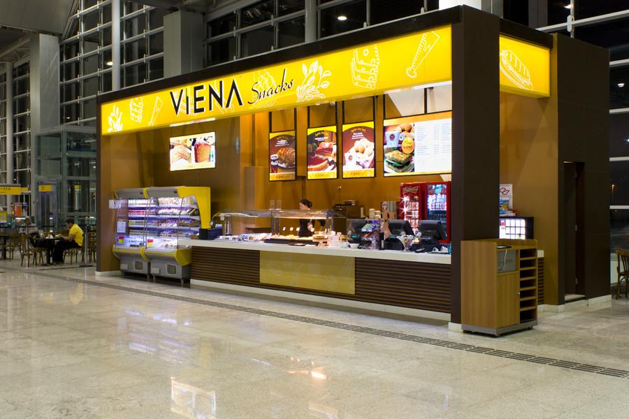 Viena Snacks - Aeroporto de Guarulhos - Terminal 3 - Embarque