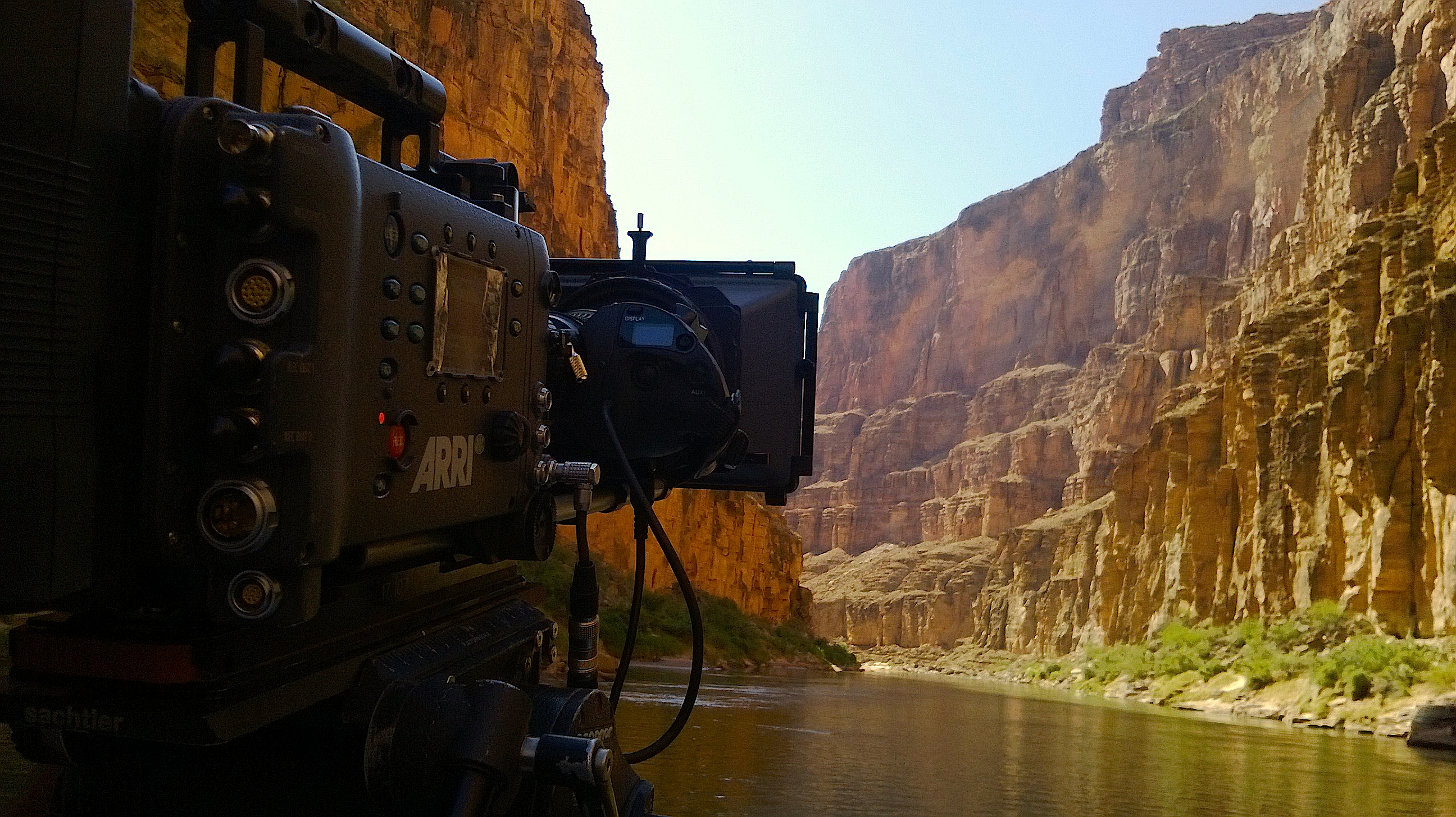 Filming and Rafting