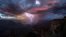 Grand Canyon stories: Thunderstorms and Flash Floods