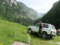 Filming in Montenegro