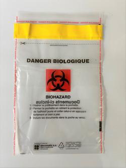 Busta di sicurezza antieffrazione Biohaz