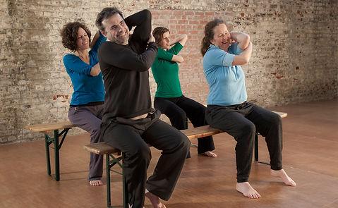 Feldenkrais 4x4 - Bewusstheit durch Bewegung